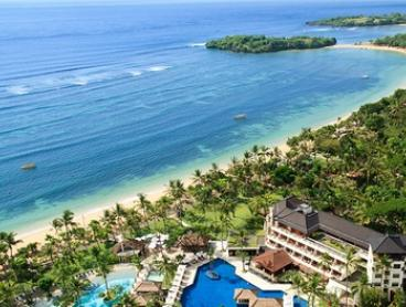 Nusa Dua: 5* Stay 3 or 5 Nights for Two with Breakfast, Afternoon Tea and Late Check-Out at Nusa Dua Beach Hotel & Spa