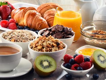 Italian Buffet Breakfast with Coffee and Juice - Just $25 for Two People or $49 for Four People (Valued Up To $80)