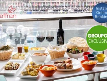 Four Course Indian BBQ Banquet with Bottle of Wine For Two ($69) or Four People ($138) at Zaaffran (Up to $312 Value)