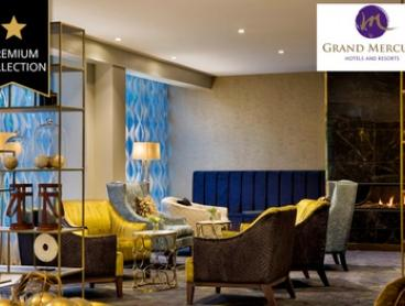 Wellington: 1 to 3 Nights for Two with Breakfast and Late Check-Out at Grand Mercure - Wellington