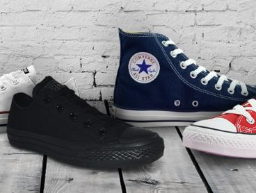 Add Some Classic Style to Your Wardrobe With These Low and High Cut Sneakers by Converse. Only $59 Each