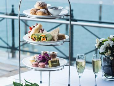 Waterfront Gourmet High Tea Experience in Mosman with a Glass of French Sparkling Each - Prices Start from $59 for Two People (Valued Up To $354)