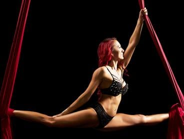 Eight-Week Full Term Introduction to Pole Dancing, Aerial Silks or Aerial Hoop for Just $110 (Value $220)