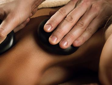 50-Minute Hot Stone and Back Scrub Pamper Session is Just $55 for One Person or $109 for Two People (Valued Up To $246.66)