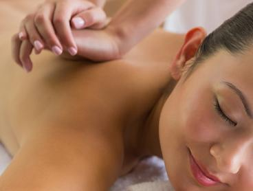 Hour-Long Pamper Package with Body and Foot Massage - $59 for One Person or $115 for Two People (Valued Up To $265)