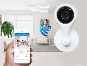 $39 for a 720P HD Two-Way Audio 360° Rotatable Wireless Smart Security Camera