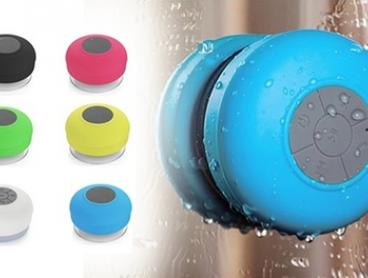 Portable Bluetooth Bathroom Speaker: One ($12) or Two ($22)