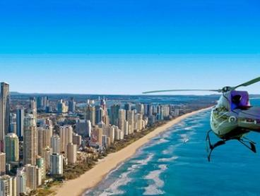$59 for a 5-Minute Scenic Flight for One or $517 for a 20-Minute Scenic Flight for Four with ABC Heli (Up to $796 Value)