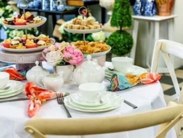 High Tea with Mocktail and Hot Drink for Two ($35), Four ($65) or Six ($95) at Pressed Tin Cafe (Up to $240 Value)