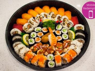 $35 for a 55-Piece Sushi Platter from Café Delores, CBD (Up to $70 Value)