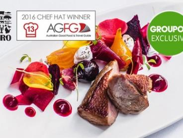 Chef-Hatted Multi-Award-Winning Modern European Degustation at The Euro, From $75