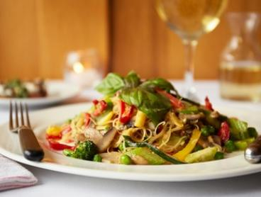 Three-Course Dinner with Wine for Two ($69) or Four People ($136) at Caminetto Italian Restaurant (Up to $294 Value)