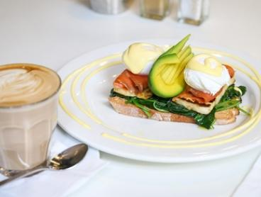 Breakfast with Juice or Coffee for One ($12.50), Two ($24) or Four People ($45) at Brew Cafe (Up to $90 Value)