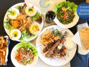 Lebanese Feast for Two ($49), Four ($98) or Six People ($147) at Anater Lebanese Restaurant (Up to $327 Value)