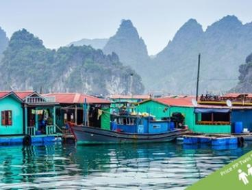 Vietnam and Cambodia: $1,499 Per Person for a 18-Day Tour with Meals, Tours and Transport with Halong Tours Booking