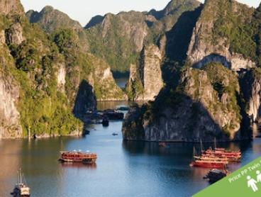 Vietnam: $949 Per Person for a 14-Day Tour with Meals, Domestic Flight and Transfers with Getaway Hanoi