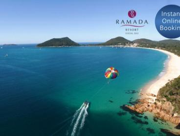 Shoal Bay: 2 or 3 Nights for Up To Six People with Sparkling Wine and Bike Hire at Ramada Resort Shoal Bay