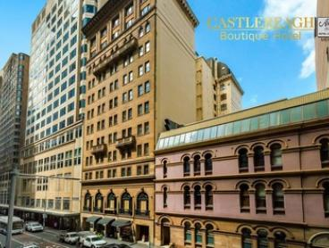 Sydney CBD: 1 to 3 Nights for Two with Late Check-Out and Food and Beverages Discount at Castlereagh Boutique Hotel