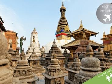 Nepal: From $1,699 Per Person for an Early Bird Six-Night Getaway with Flights and Meals with Holiday XP