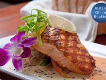 Two-Course Dinner with Wine for Two ($39), Four ($75), or Six People ($109) at Lava in Balaclava (Up to $256.50 Value)