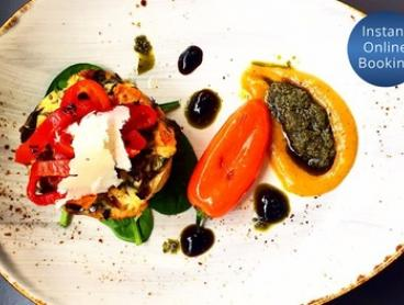Lunch with Coffee or Soft Drink for One ($16) or Two People ($31) at Dinoni (Up to $41.80 Value)