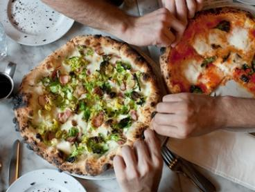 Two-Course Pizza Meal for Two ($35), or Three-Course Pizza Meal for Four People ($89) at GoodPizza (Up to $196 Value)