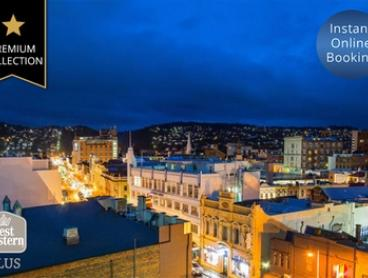 Launceston: Up to 3 Nights for 2 or 4 People with Breakfast, Late Check-Out and Parking at 4.5-Star Best Western Plus