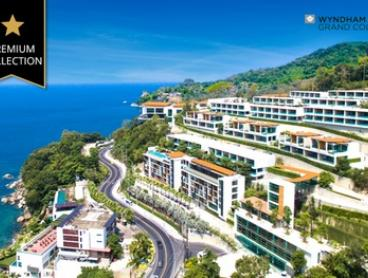 5* Phuket: Up to 7 Nights for Up to Four with Breakfast, Drinks and Late Check-Out at Wyndham Grand Phuket Kalim Bay