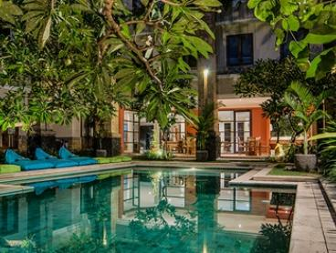 Bali, Seminyak: Up to 7-Night Villa Stay for Three People with Breakfast and Welcome Drink at Sara Residence