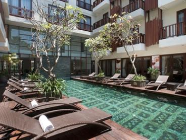 Bali, Seminyak: 3-, 5-, or 7-Night Escape for Two People with Breakfast, Drinks, and WiFi at Sense Hotel Seminyak