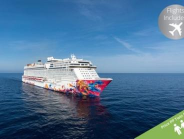 Singapore: 6 Night Fly Cruise Package on Genting Dream from $1519 per person Including a Night at the 4* Studio M Hotel