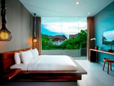 Bali, Canggu: Three-, Five- or Seven-Night Private Pool Villa Escape for Four People with Breakfast at Villa Sandhya