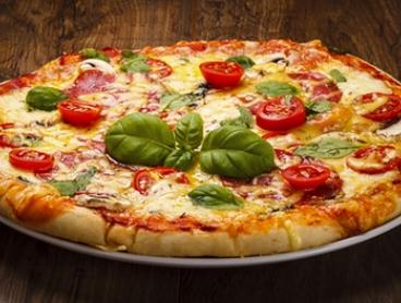 Wood Fired Pizza with Beer or Wine Each for Two ($25) or Four People ($45) at Santos Cafe and Bar (Up to $90 Value)