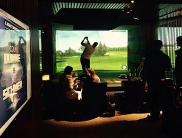Golf Simulator for Six People + Beer - One ($39), Two ($78) or Three Hours ($117) at  Golf Plus  (Up to $396 value)