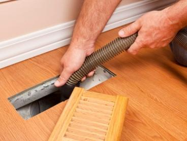 Duct Heating or Cooling System Cleaning - Up to 15 ($199) or 25 Vents ($239) with Mr Duct Cleaning (Up to $549 Value)