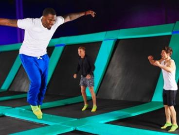 2-Hr Weekday Jumping Session + Grip Socks: 1 ($15), 2 ($29) or 4 People ($49) at Flip Out Derrimut (Up to $118 Value)