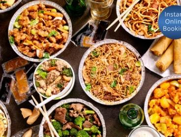 Five-Course Chinese Banquet for 2 ($29) or 4 People ($55) at Golden Barbeque (Up to $108.50 Value)