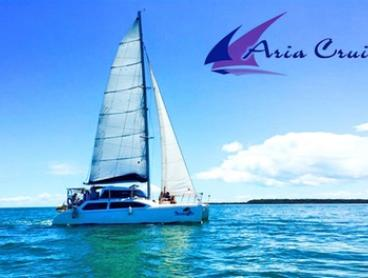 Moreton Bay Cruise and Lunch for One Child ($39), Adult ($49) or 20 People ($899) with Aria Cruises (Up to $2,200 Value)