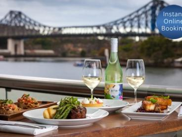 Two-Course Meal with Wine for Two ($75), Four ($145) or Eight People ($285) at Friday's Riverside (Up to $450 Value)