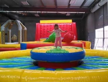 Play Centre Entry for Child Under 5 and Adult ($5) or a Family Pass ($29) at Jumpin 4 Fun - Kawana (Up to $48 value)