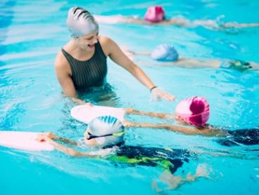 4 Weekday ($10) or All-Week Swimming Lessons for Child ($20) at JOYOUS SWIM SCHOOL (Up to $82 Value)
