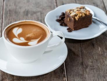 Brownie and Regular Coffee for One ($4.50), Two ($8.50) or Four ($15) at The Henderson Art Gallery (Up to $36 Value)