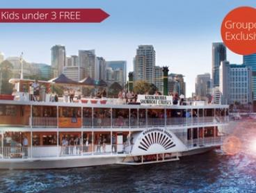 From $26 for a Weekday River Sights Lunch Cruise with Kookaburra Showboat Cruises, CBD (From $29 Value)