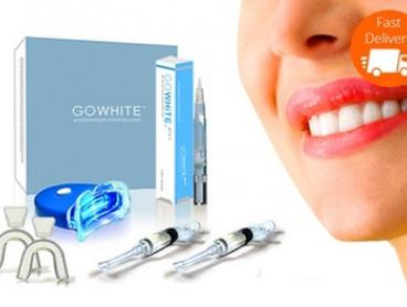 From $29 for a GoWhite Teeth Whitening Kit or Four GoWhite Teeth Whitening Pens (Don't Pay up to $977.6)