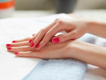 SNS Manicure ($29) with Standard Polish Pedicure ($49) at Julex Nail  Beauty (Up to $75 Value)