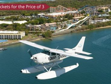 Scenic Flight: One Child (From $50) or Adult (From $65) Ticket, or Four Tickets (From $195) with Cloud 9 Sea Planes