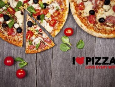 $19 for Two Large Takeaway Pizzas at I Love Pizza, Choice of Three Locations (Up to $43.80 Value)