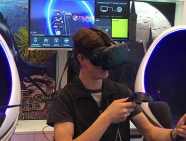 Virtual Reality Experience: One ($19), Two ($35) or Three Playing Bays ($49) at VR Adventure World (Up to $110 Value)