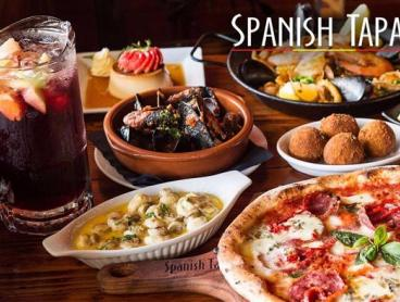 Credit to Use On Spanish Tapas