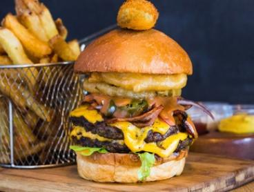 Cheeseburger, Fries and Soft Drink for One ($11), Two ($22) or Four ($44) at Milk Bar By Cafeish (Up to $80 Value)